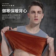 【8243】男士加厚加絨保暖背心 緊身 打底 (2色可選/M-2XL)