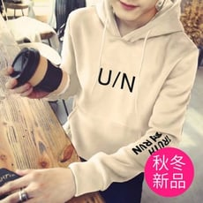 U/N韓版個性連帽T恤 男款潮流連帽T M-2XL(2款可選)