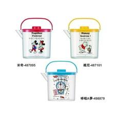 耐熱寬口塑膠茶壺 共3款 (米奇/維尼/哆啦A夢)