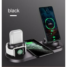 多功能無線充電器適用蘋果手錶耳機手機無線
