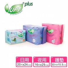 【韓國 UFT 】自然草本蘆薈衛生棉-日用/夜用