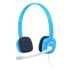 羅技 H150(藍)頭戴式耳機麥克風