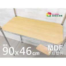 鐵架配件 | MDF木紋墊片90x46cm