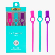 【LA CHANTEE】 香水分裝器(三支裝) 桃紅+湖水綠+紫