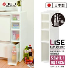 日本製原裝進口 JEJ  SLIM系列 小物抽屜櫃  小層2抽中層1抽大層1抽