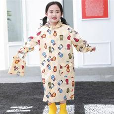 【STAR BABY】復仇者聯盟印花可加大書包位置兒童雨衣