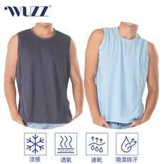 [WUZZ]MIT冰鎮排汗運動無袖衫M-XL