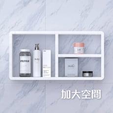 【U-FIT】免打孔D款衛浴防水收納層板櫃(廚房也適用)