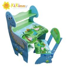 【kikimmy】恐龍升降書桌椅組