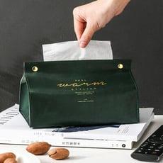 買一波▶復古皮革質感面紙盒衛生紙盒抽紙套衛生紙套 【Z90528】
