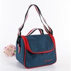 牛仔保溫保冷便當包 手提包 野餐包 野餐趴 保鮮收納包 便當袋
