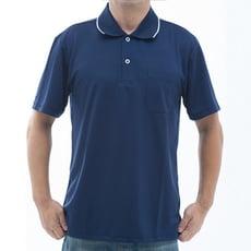 【SAIN SOU】台灣製吸濕排汗速乾短袖POLO衫T26536-02