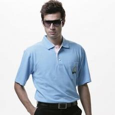 【SAIN SOU】MIT吸濕排汗短袖POLO衫T26041-06