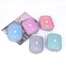【WEEKEIGHT】輕巧方便攜帶防潑水藥包/小物收納包TAS142