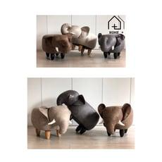 『Home+』大象凳 造型凳 動物凳 穿鞋凳 沙發凳 小椅子