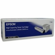 福利品 S050229 EPSON 原廠黑色碳粉匣 適用 AcuLaser 2600N/C2600