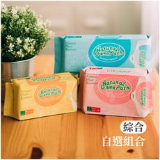 【自然好】原萃草本涼感衛生棉 綜合 ( 自選規格 ) - 台灣製