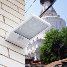 超薄36led太陽能人體感應燈戶外小路燈多功能led壁燈庭院1入