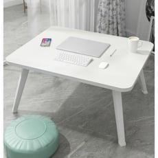 小桌子臥室坐地ins可折疊床用折疊桌簡便矮桌上床鐵支架書桌木質1入