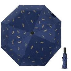 晴雨兩用自動傘 黑膠傘 防風 防水 抗UV 摺疊傘 折疊傘 太陽傘 防曬遮陽傘 一鍵開收傘 晴雨傘