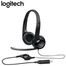 羅技 H390 USB 耳機麥克風 [富廉網]