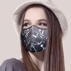 SGS檢驗合格【Hikari 日光生活】MIT吸濕排汗竹炭紗立體口罩