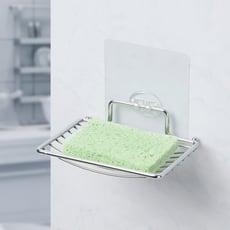 魔術無痕貼-菜瓜布肥皂架