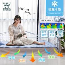 【好物良品】【現貨】外銷日本冷感沙發墊-一人座墊90*90cm 夏季墊 冷感墊 冷凝墊  I17-1