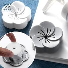 【好物良品】花朵造型衣櫃衛浴香薰除味盒-香薰片補充包 D32-2
