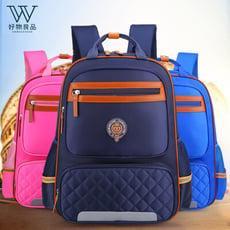 『好物良品』英倫學院風兒童減壓護脊輕量書包 兒童書包 防水書包 背包