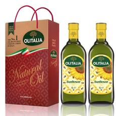 Olitalia奧利塔-頂級葵花油禮盒(2罐/組)