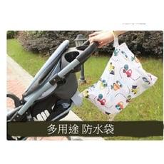 【大容量寶寶外出尿布髒衣袋S013】 媽咪包 牛津布防水尿布袋 萬用收納袋 尿布髒衣收納