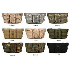 【戰術三連腰包】戶外休閒多功能三連腰包 戰術腰包 生存遊戲美軍腰包 迷彩腰包 掛包 登山包