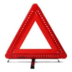 艾比讚 警示牌【L116 LED】LED款 三角反光警示牌 警示架 停車反光警示標誌LED 三角架