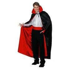 艾比讚 吸血鬼斗蓬【L225】萬聖節服裝 化妝舞會 成人斗篷 黑色紅色雙面 吸血鬼死神披風