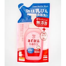 【SARAYA】 Arau Baby 奶瓶清潔皂液補充包 450ml