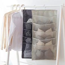 【E.City】多功能雙面內衣褲小物收納掛袋3件組