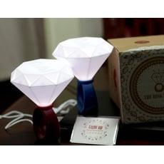 E.City_USB浪漫情侶鑽戒燈,隱藏「I ❤ U 」,可當情人節、求婚最棒禮物