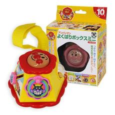 日本 PINOCCHIO 麵包超人六面音樂手指玩具