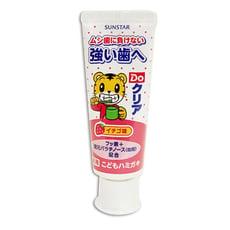 日本SUNSTAR 三詩達 巧虎幼兒牙膏-草莓