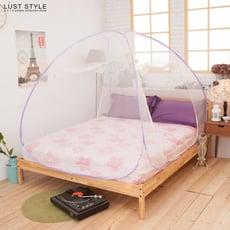 《雙門立體.蒙古包蚊帳》最高160cm+雙開門【雙人】防蚊.驅蚊