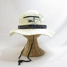 teva safari 狩獵帽拉鍊小袋 民族風圖騰 有調整扣繩可調整鬆緊 teva69 帽圍63cM