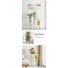 花幾 北歐輕奢綠蘿鐵藝花架室內客廳陽臺落地花盆植物架簡約鐵架子