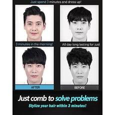 直髮梳 男士頭髮造型梳韓國多功能蓬鬆背頭直髮梳電梳神器梳子定型梳