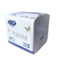 百吉牌 Paichi抽取柔拭紙巾300抽x60包