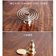 純銅葫蘆支架 多功能支架香爐家用室內香插
