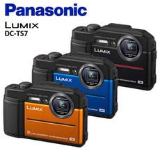 【Panasonic 公司貨】潛水首選 LUMIX DC-TS7 高校四防 防水/防塵/防寒/防撞