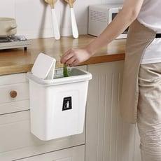 廚房掛式推蓋垃圾桶