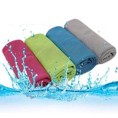 夏季必備極速涼感吸濕降溫冰涼巾