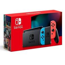 【神腦生活】現貨Nintendo Switch 主機 電光紅藍 (電池加強版)